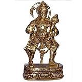 """Affengott Hanuman Hindu-Gott Messing Indische Dekovon """"ShalinIndia"""""""