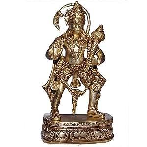 Affengott hanuman hindu gott messing indische deko amazon for Indische dekoartikel