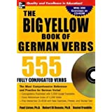 The Big Yellow Book of German Verbs (Book w/CD-ROM): 555 Fully Conjugated Verbs (Big Book of Verbs Series)by Paul Listen