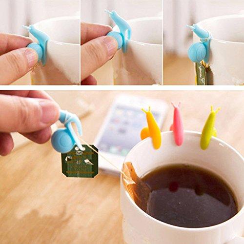 aliciashouse-5pcs-lumaca-carino-mini-bustina-di-te-titolare-appeso-clip-cup