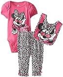 Disney Baby Baby-Girls Newborn Disney's Minnie Mouse Three-Piece Set