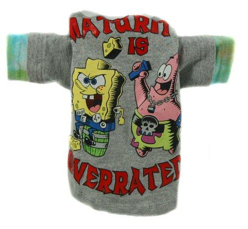Jack Rocketwear Couture Vintage Sponge Bob Dog Shirt Outfit Stocking Stuffer