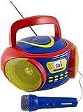 Telefunken RC1006M tragbares MP3-CD-Radio für Kinder...