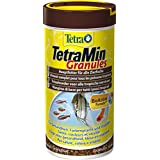 Tetra 128781 TetraMin Granules, Hauptfutter in Granulatform für alle Zierfische, 250 ml