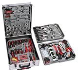 Jago WZKF05 Tool Set 251 pieces including toolbox with trolley function and detachable handleby Jago