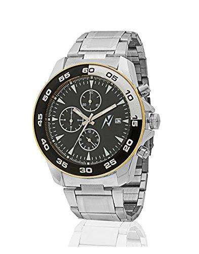 Yepme Men's Chronograph Watch – Black/Silver — YPMWATCH2547
