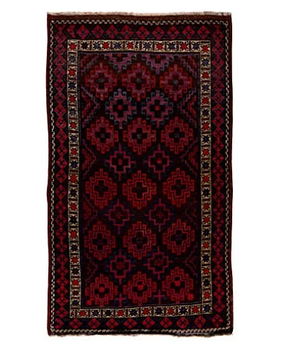 Solo Rugs One-of-a-Kind Tribal Rug, Brown, 4' 10 x 8' 10
