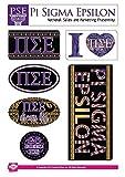 Pi Sigma Epsilon Sticker Sheet - Bohemian Theme. 8.5