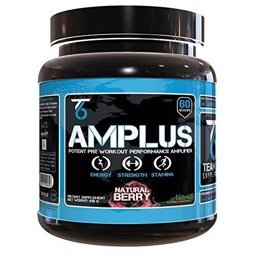 AMPLUS supplément naturel de pré-entraînement