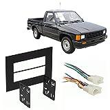 Fits Toyota Pickup/4 Runner 1987-1988 Double DIN Harness Radio Dash Kit