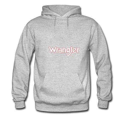 Fashion Wrangler Hoodies -  Felpa con cappuccio  - Uomo Gray Medium