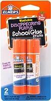 Elmers Disappearing Purple School Glue Sticks .21 oz  2 Pack E522