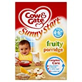 Cow Gate Baby Balance Fruity Breakfast Cereal 4 6 Months 125g