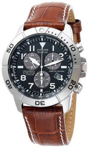 Citizen Men's Eco-Drive Perpetual Calendar Chronograph Watch #BL5250-02L