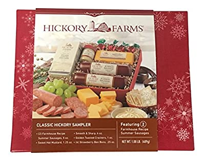 Hickory Farms Classic Hickory Sampler with 2 Summer Sausages by Hickory Farms