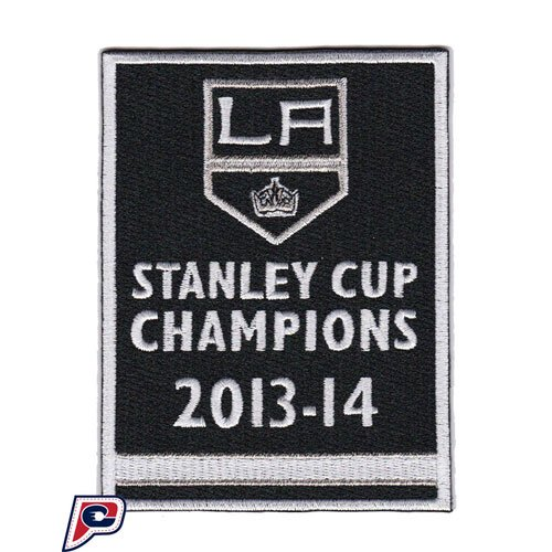 2014 Stanley Cup Final Champions Banner Los Angeles Kings Opening Night Jersey Patch (2014 Stanley Cup Champions Patch compare prices)
