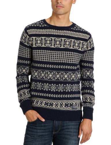 Cottonfield Celio Men's Jumper Pattern 1 Medium