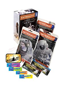 Funkyfoodshop Astronaut Mission Pack and Ice Cream Space Food Sticks, 14 Ounce