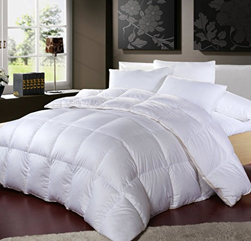 Find Bargain LUXURIOUS 1200 Thread Count GOOSE DOWN Comforter , California King Size, 1200TC - 100% ...