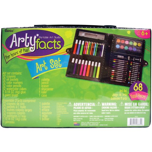 Darice 68Piece Art Set Picture
