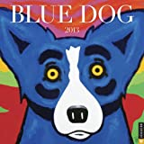Blue Dog 2013 Wall Calendar (0789325241) by Rodrigue, George