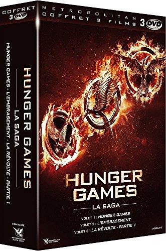 Coffret hunger games : hunger games 1 ; hunger games 2, l'embrasement ; hunger games 3, la révolte : vol. 1 [Edizione: Francia]