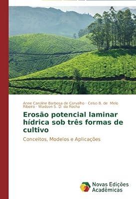 Erosão potencial laminar hídrica sob três formas de cultivo: Conceitos, Modelos e Aplicações (Portuguese Edition)