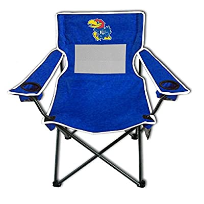 Rivalry Team Logo Picnic Outdoor Events Kansas Monster Mesh Adult Chair