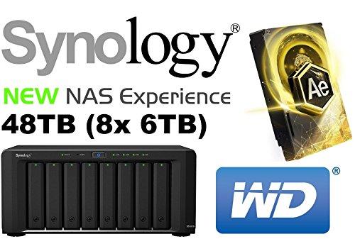 synology-diskstation-ds1815-48tb-nas-server-8-bay-4x-rj45-4x-usb-30-2x-esata-8x-6tb-wd-ae-aus-der-go
