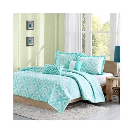 Reversible Girls Teal Comforter Bedding Set With Pillows U0026 Scented Candle  Tart Part 78