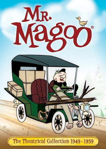 DVD : Mr Magoo: The Theatrical Collection (1949-1959) (Boxed Set, 4 Disc)