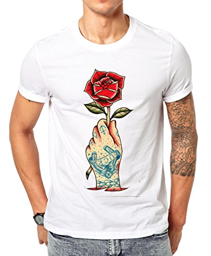 Jungle Tribe -  T-shirt - Maniche corte  - Uomo bianco XX-Large
