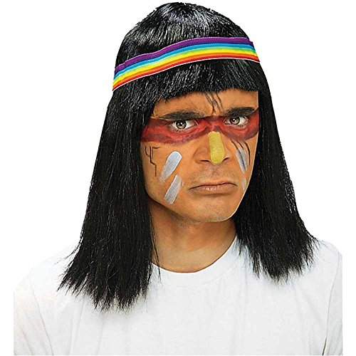Adult Native American Man Wig