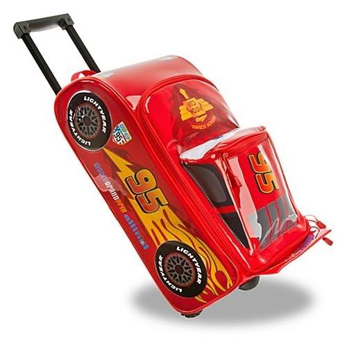 【ディズニー カーズ2 】ライトニング・マックィーンのキャリーバッグ (機内持ち込みサイズ) 並行輸入品