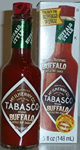 Tabasco Brand Hot Pepper Sauce - Buffalo Wing Style 5 Oz
