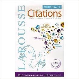 Larousse dictionnaire des citations francaises r carlier 9780320002489 books - Dictionnaire de cuisine larousse ...