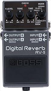 Boss RV-5 Digital Reverb, Effektgerät für E-Gitarre