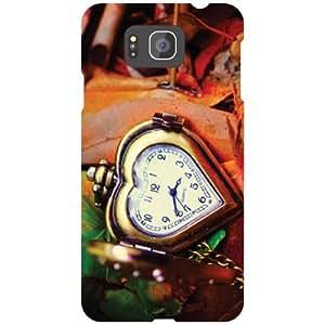 Samsung Galaxy Alpha G850 - Kiddo Love Matte Finish Phone Cover