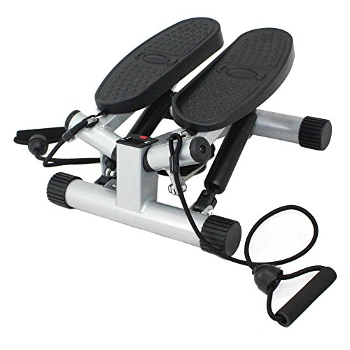 Sale!! Sunny Health & Fitness Sunny Health & Fitness Twisting Stair Stepper with Bands