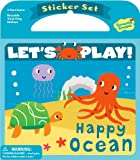 Peaceable Kingdom / Let's Play! Happy Ocean Reusable Sticker Set
