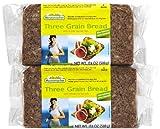 Three Grain Bread with Whole Rye Kernels, 17.6 oz (500 g)