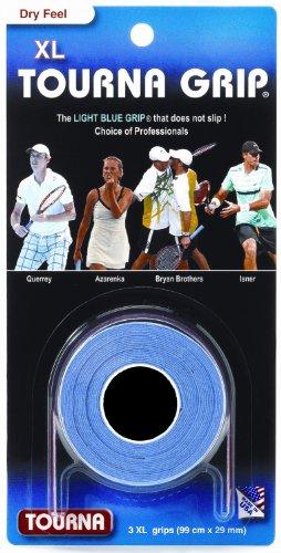 Tourna Grip XL - racquet overgrip - pack of 3 - tennis, badminton, squash, racketball