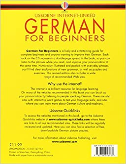 Best book for learning german for beginners