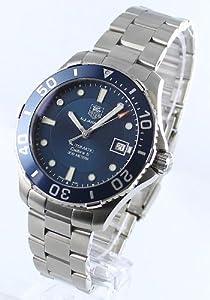 Mens Watch Tag Heuer WAN2111BA0822 Aquaracer Stainless Steel Aquaracer 300M Blue