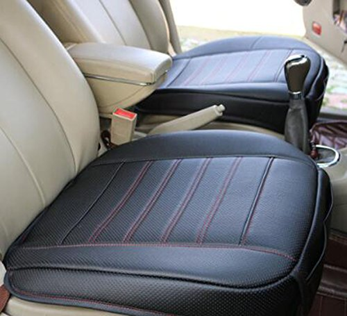 EDEALYN PU Leather Soft Car Seat Cover Pad Mat Auto Car Chair ...