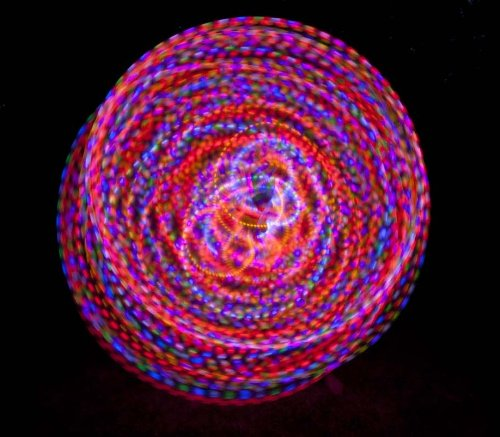 "36"" - 24 Strobing Led Hula Hoop - Polypro - The Trance"