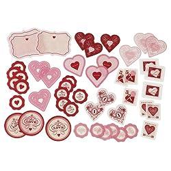 Martha Stewart Crafts Heart And Key Acetate Die-Cuts