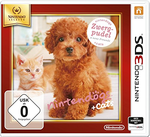 Nintendo Nintendogs + cats: Toy Poodle & New Friends, 3DS
