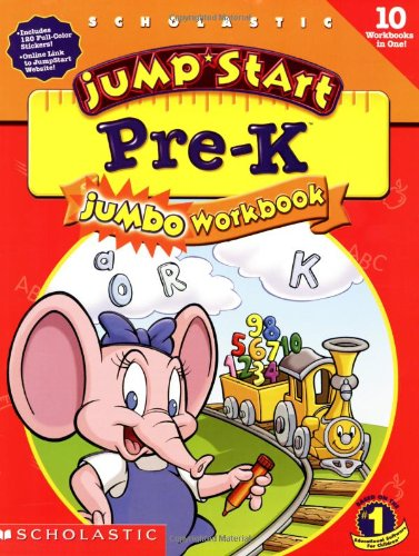 Image for Jumpstart Pre-k: Jumbo Workbook