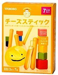 和光堂のおやつすまいるぽけっと チーズスティック (3本×7包)×4箱